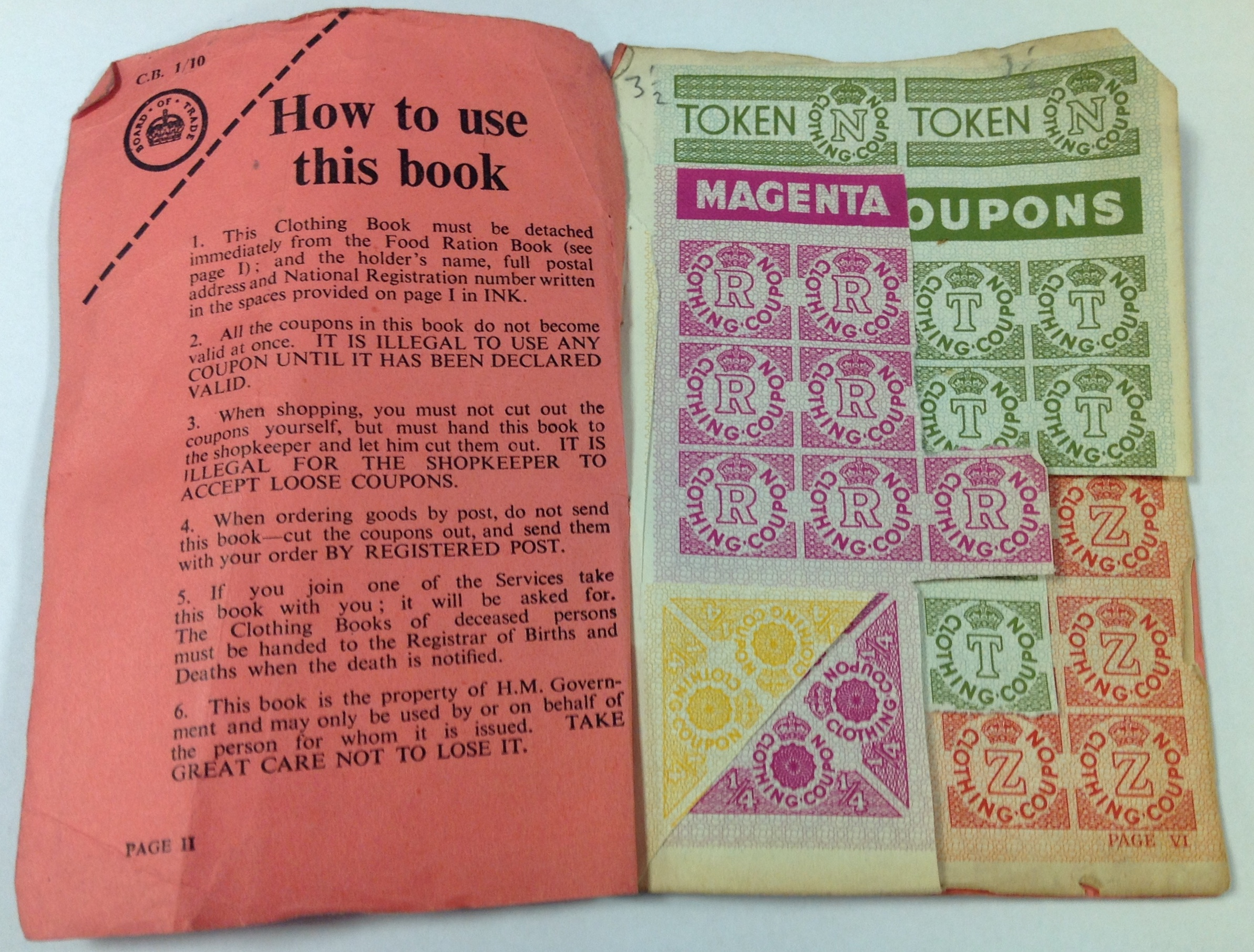 photo relating to Ration Book Ww2 Printable named Ww2 discount coupons / Bjs coupon ebook january 2018
