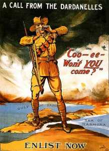 Call_from_The_Dardenelles_Australian_World_War_One_Enlistment_Poster_WWI_I