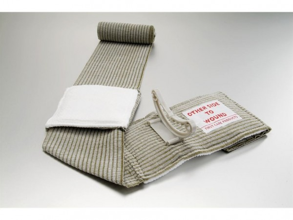 military-green-emergency-bandage-with-mobile-pad