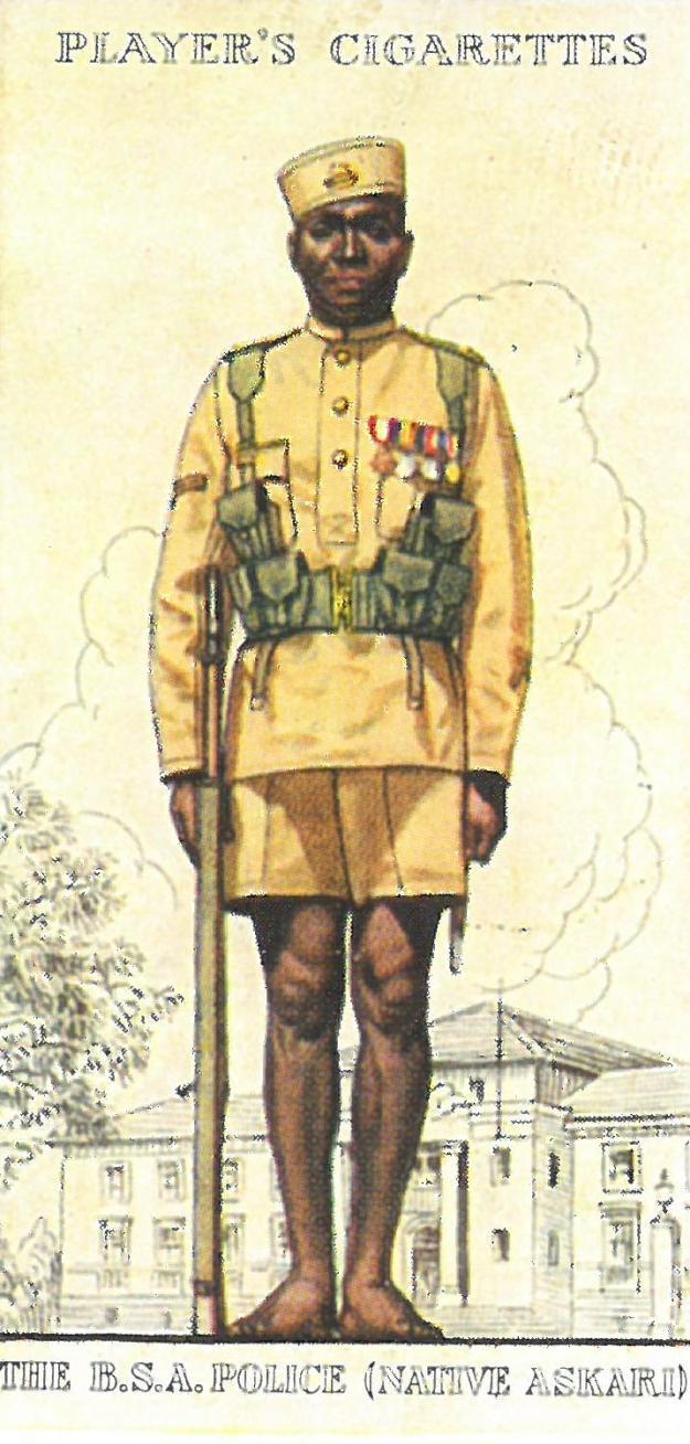 147. British South African Police Native Askari